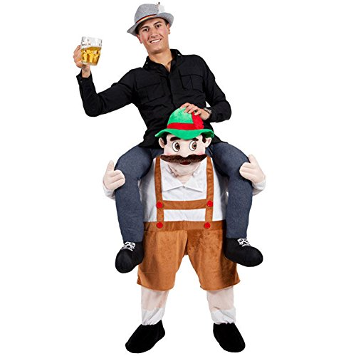 Fancy Carry Me Brown Beer Guy Costume Beer Guy Bear Mascot Fancy Party Dress