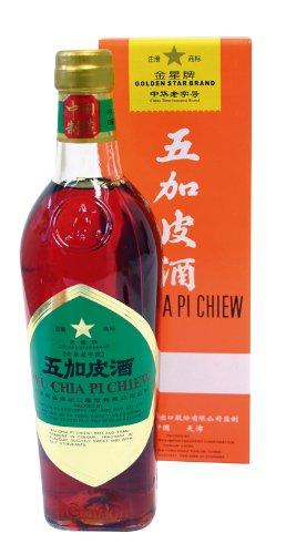 Golden Star - Chinesische Kräuter-Spirituose Wu Chia Pi Chiew 500ml - 54%Vol
