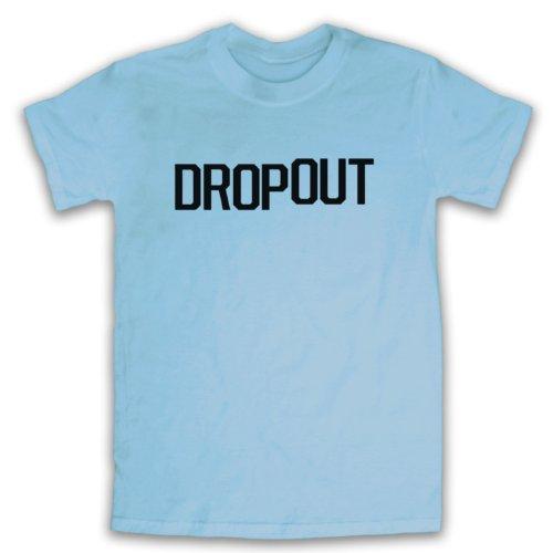 Dropout Funny Slogan Herren T-Shirt Hellblau