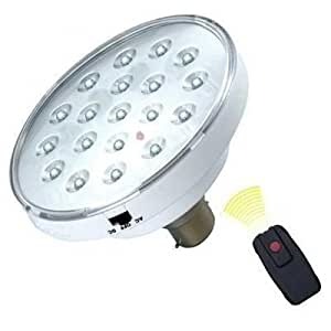 3 in 1 Orkia 24 LED Super Bright Bulb with Battery AC/DC + Remote