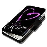 Book Style Handy Tasche - Design WD47 - für HTC Desire 310