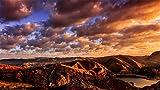 ZSFFSZ Jigsaw Puzzle 1000 Piece Le Montagne della Sierra Nevada, Paesaggio Classic Puzzle Fai da Te Kit Giocattolo di Legno Home Decor