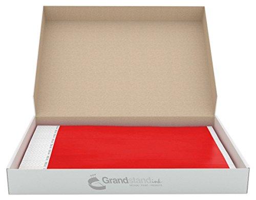 grandstandstorecom-tyvek-pulseras-perforadas-para-eventos-19-mm-color-rojo-brillante-para-una-facil-