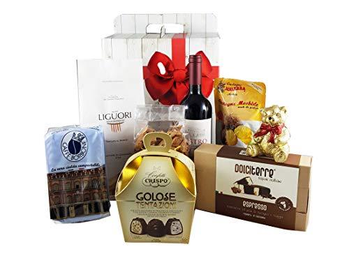 Box gastronomico dolcezze natalizie fai da te - kit5 praline cioccolato caffè