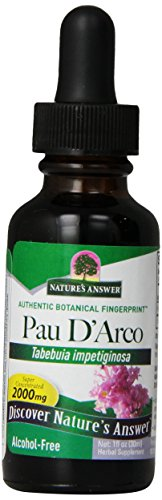 Nature's Answer Pau D'arco Inner Bark (alcohol Free 1 Fl Oz)