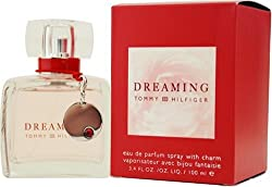 Tommy Dreaming by Tommy Hilfiger For Women. Eau De Parfum Spray With Charm 3.4-Ounces