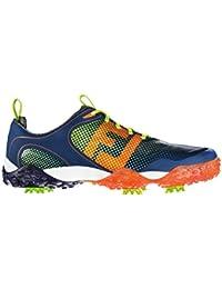 FootJoy Freestyle - Zapatos de golf para hombre, color azul marino / naranja / lima, talla 41