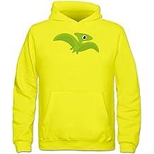Sudadera con capucha niño Green Flying Dinosaur by Shirtcity