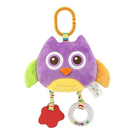 Animaux en peluche Hochet Clochette infantile Berceau Lit Cintre développement jouet
