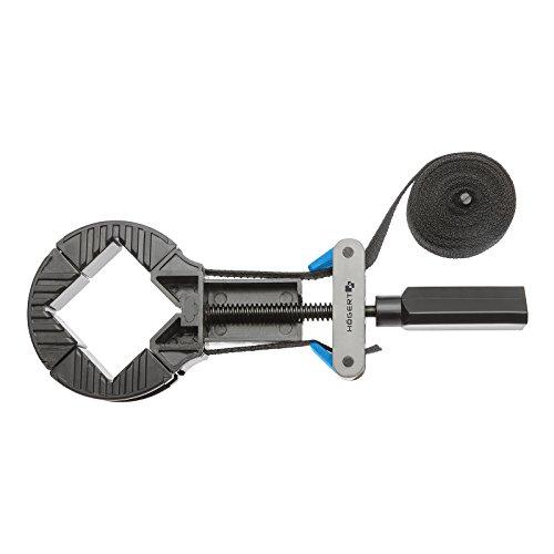 Bandspanner 4 m Bandlänge 4x Spannbacken Rahmenspanner Bandzwinge Rahmen-Bandspanner von SECOTEC®