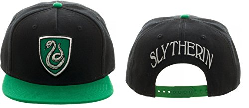 Harry Potter Slytherin Crest Snapback Hat (Slytherin Hat)