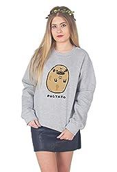 Sanfran - Pugtato Funny Pug Potato Dog Jumper Sweater