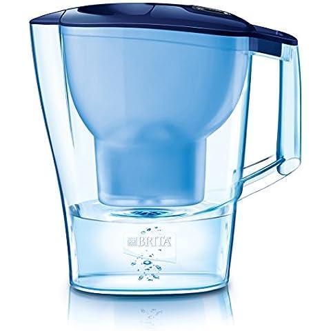 BRITA Aluna - Jarra con filtro de agua 2.4 L, color azul