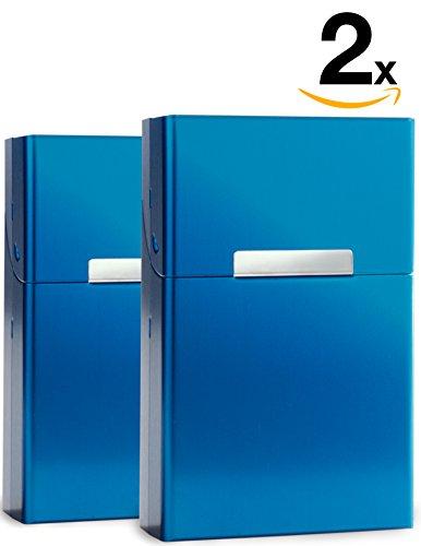 yelloh-2er-set-herren-zigarettenetui-volumen-20-stk-zigaretten-blau-zigarettenbox-aluminium-etui-box