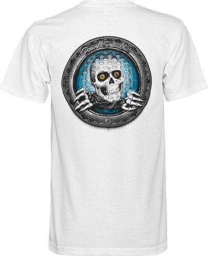 powell-peralta Pool Light Ripper T-Shirt weiß
