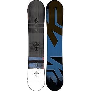 K2 Herren Raygun Wide Snowboard schwarz-blau-weiß Design 2017 11B0020.1.W.