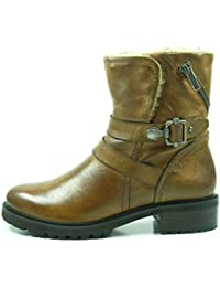 Olga Ankle Boot, Botas Chelsea para Mujer, Negro (Black 01001), 37 EU SPM