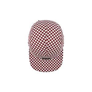 Vans 5 Panel Hat 2018 Buy Vans Davis 5 Panel Checker Hats Red Snowy ... a8969657d217
