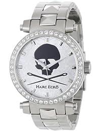 Marc Ecko Reloj Análogo clásico para Hombre de Cuarzo con Correa en Acero Inoxidable E15083M1