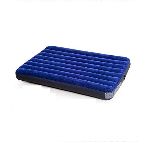 mlc Aufblasbares Bett Blaue Haare behaarte Luft Bett/Single verdickt Hoverboard Cord-Matratze (einschließlich Fuß auf Luftpumpe)