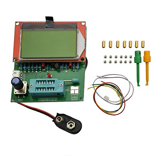 WOVELOT LCD EZM328(GM328R) Transistor Tester/ESR/Frequency Meter/Square Wave Genera -