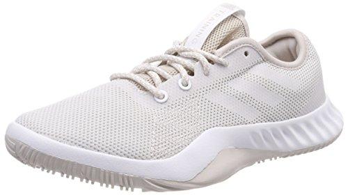 adidas Damen Crazytrain Lt Fitnessschuhe Beige Footwear White/Chalk Pearl, 38 EU