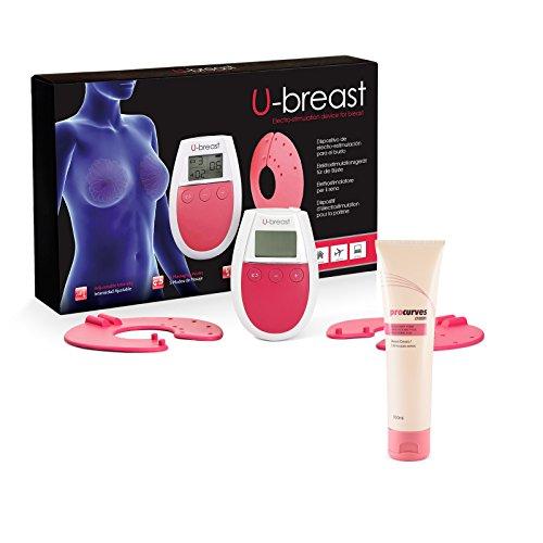 U-Breast + Procurves Cream: Appareil d'électrostimulation et Crème pour augmenter les seins