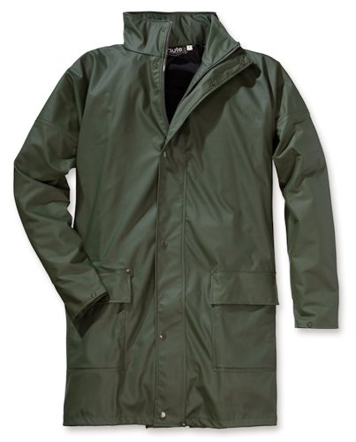 ELUTEX Schnittschutz-Latzhose Basic, 1 Stück, 60, grün/orange, 8130