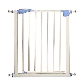 Hyzb Barrière De Sécurité Porte Porte Chien Garde-Corps Rampe D'escalier Clôture pour Isolement en Métal pour Chien Chat Chat en Métal - Longueur 65-72cm, Hauteur 76cm (Couleur : Violet)