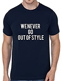 [Sponsored]Never Go Out Of Style Printed Round Neck T-Shirt By Fashion Fleaa
