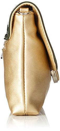 Bulaggi - Layton Clutch, Pochette da giorno Donna Oro (Gold)