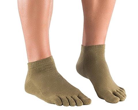Knitido Naturals chaussettes à orteils en lin, Size:UK