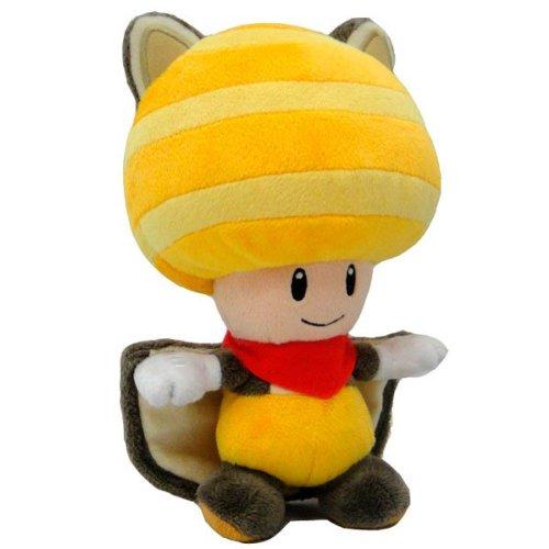 OTAETYFIA29011 - OTAETYFIA29011 - Peluche Toad ardilla voladora amarillo (20cm)