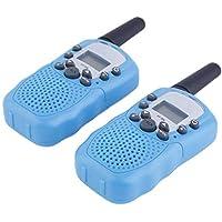2 unids RT-388 Walkie Talkie 0.5 W 22CH Radio de Dos Vías para Niños Regalo de Los Niños Interior Al Aire Libre Simple Para Usar la Fuente de Alimentación de la Batería
