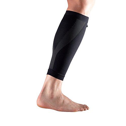 LP Support 270 Power Sleeve Kompressions-Wadenbandage - Waden-Support für Sport, Größe:L, Farbe:schwarz