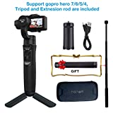 Best GoPro Pro Cameras - Hohem iSteady Pro 3 Axis Gimbal for Gopro Review