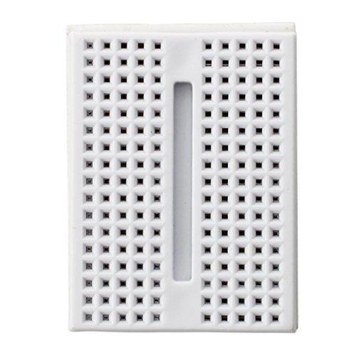 Fengh 5 pcs Syb-170 Mini sans soudure Prototype Breadboard (Blanc)