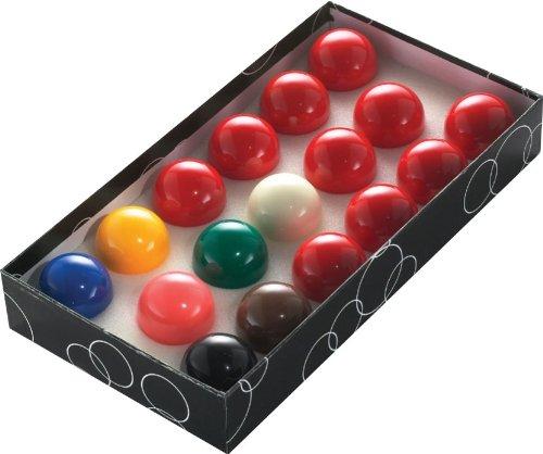 POWERGLIDE Snookerkugel-Set, 44mm, 17Kugeln