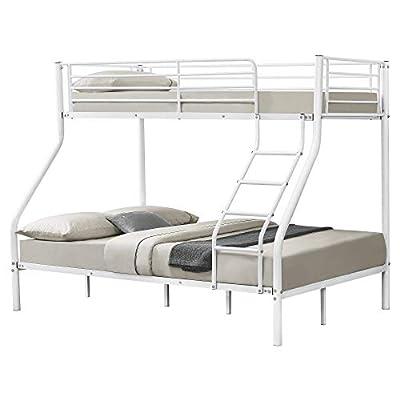 neu.haus] Metal Bunk Bed 210cm x 147,5cm x 168cm Children Bed Triple Sleeper Double Bed