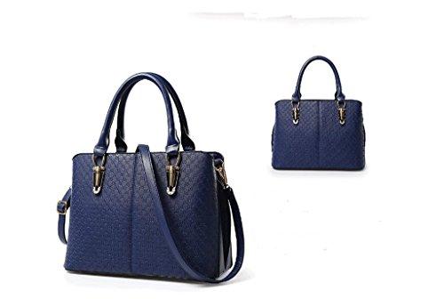 La nuova tendenza della femmina moda borse a mano, big bags, spalla di svago, Messenger bag Royal blue