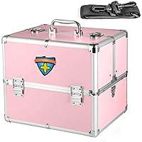 SLH Hausapotheke Mehrschichtige Familienhilfe aus der Box Medizin-Aufbewahrungsbox (Color : Pink) preisvergleich bei billige-tabletten.eu