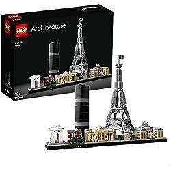 Lego Architecture Parigi Prigi Gioco per Bambini, Colore Vari, 21044