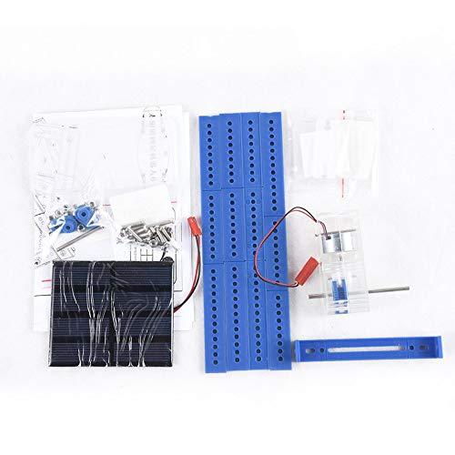 Versione solare del robot a quattro zampe n ° 61 Fai da te Materiale assemblato a mano Materiale puzzle