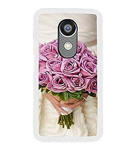 ifasho Designer Back Case Cover for Motorola Moto X :: Motorola Moto X (1st Gen) XT1052 XT1058 XT1053 XT1056 XT1060 XT1055 (Lilium Candidum HomeSociality Rose Mix ProsperFlourishBloomDevelop)