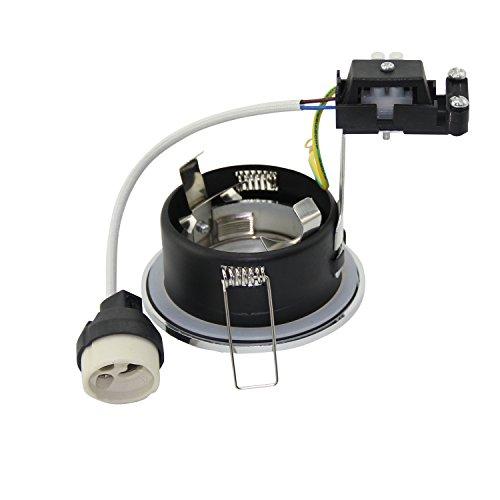 prezzo Faretto da incasso IP65, rotondo, 230V, attacco GU10Per LED e lampadine alogene da 50mm