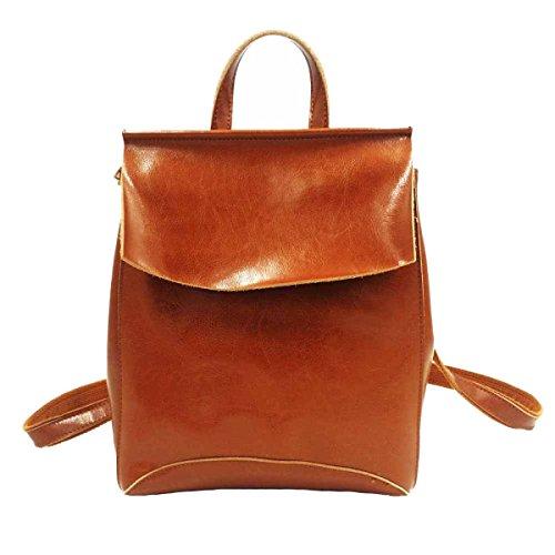Grande Signore Capacità Shoulder Bag Multi-color Orange
