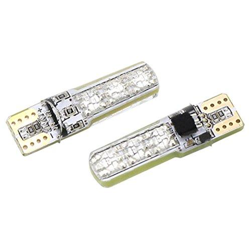 WINOMO T10 LED Auto Lampe Kennzeichenbeleuchtung mit Infrarot Fernbedienung 2 STÜCKE
