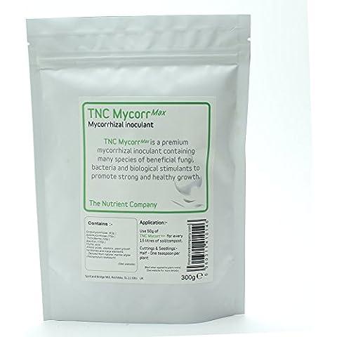 TNC MycorrMax - Polvere Micorrize con Trichoderma e Batteri / Funghi Micorrizici / GRANDI Radici (75g)