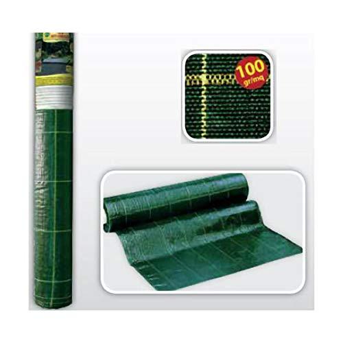 Telo tapis mauvaises herbes contre paillis pelouse sous-sol x 5 -100 2,10 g / m² vert