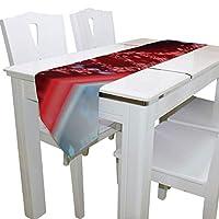 Yushg Dna Molecular Map Mens Gym Duffle Bag Gym Equipment Bag Sports Gym Bag Table Runner Decor Indoor 13x90 Inch